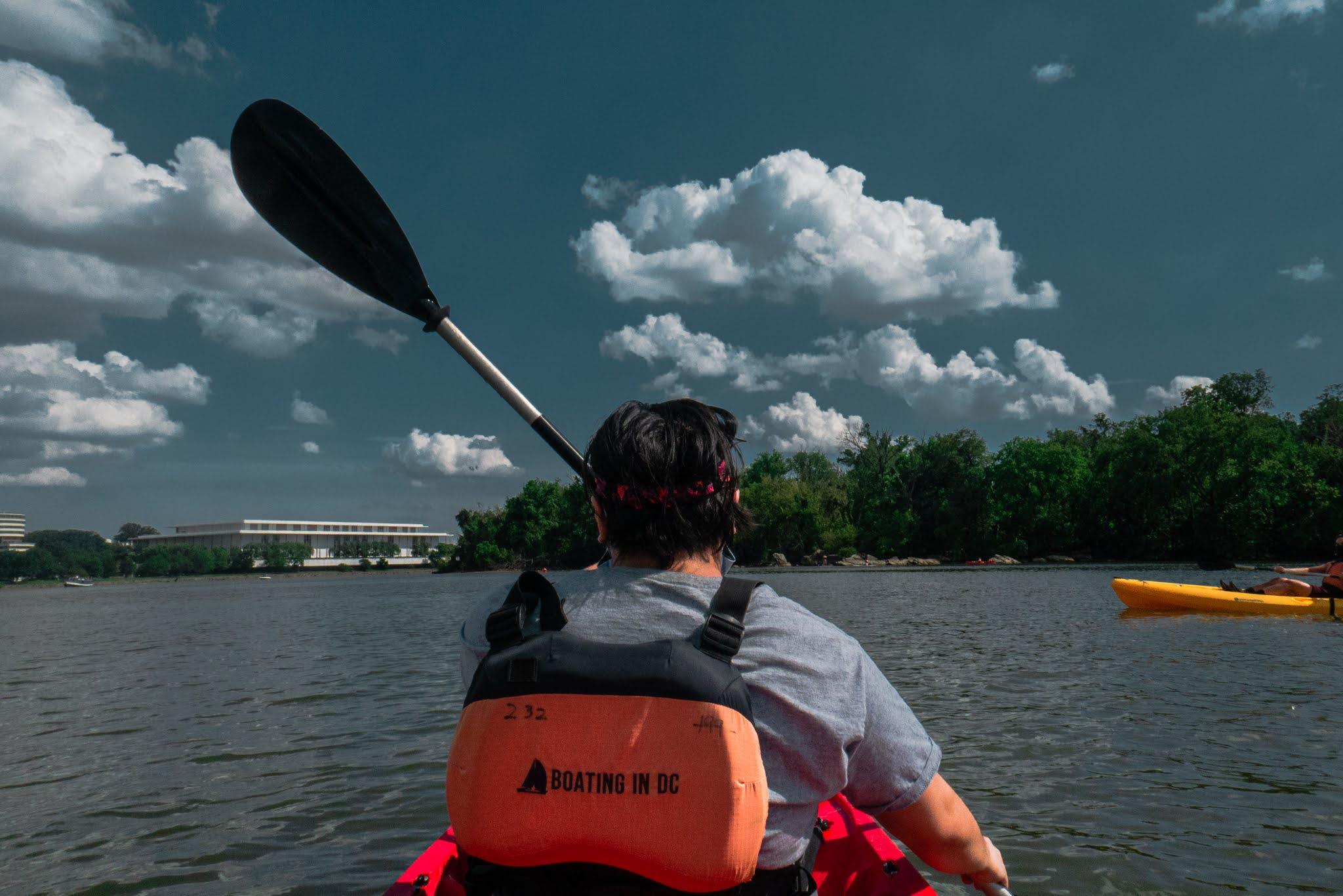 Quarantine Summer: Kayaking in D.C.
