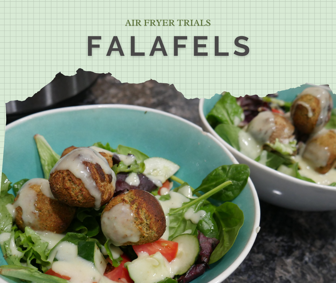 Falafels Recipe: An Air Fryer Trial